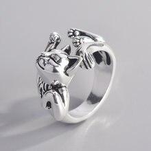 Кольцо в ретро стиле для мужчин и женщин изящное открытое ювелирное