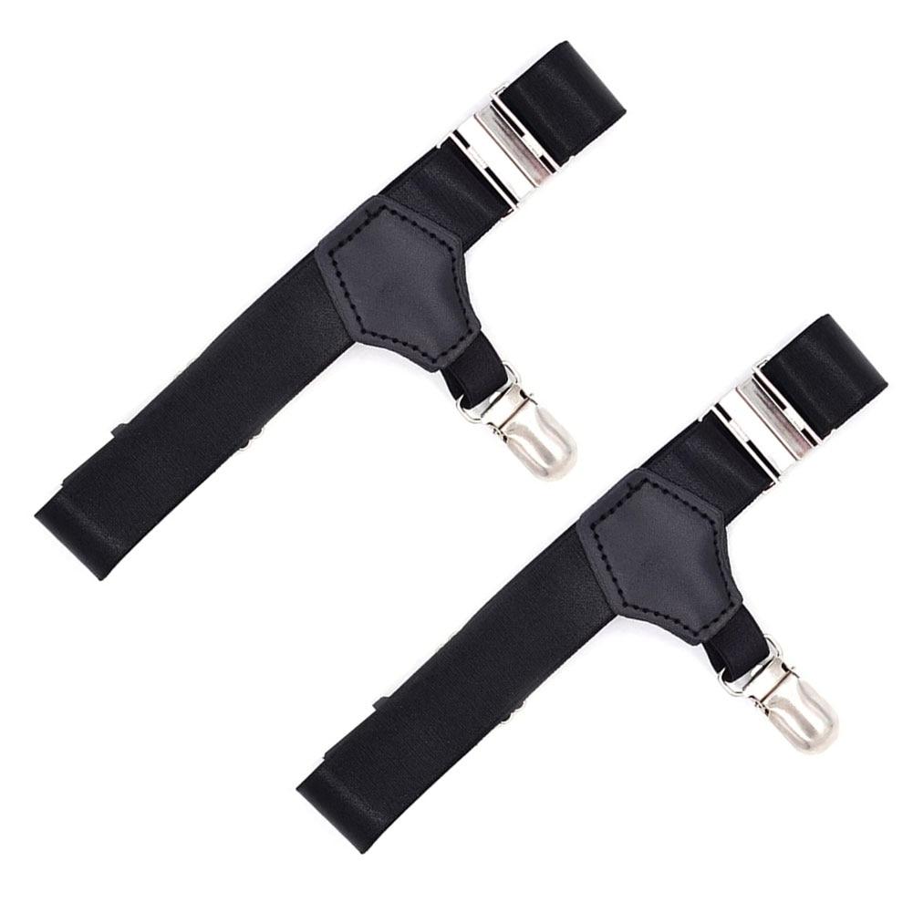 1 Pair Non Slip Lightweight Adjustable Comfortable Outdoor Elastic Men Socks Stays Universal Garters Holder Crease Resistant