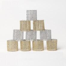 6 шт., кольца для салфеток, стулья, пряжки, вечерние свадебные украшения, блестящие украшения, банты со стразами, держатель для салфеток ручной работы