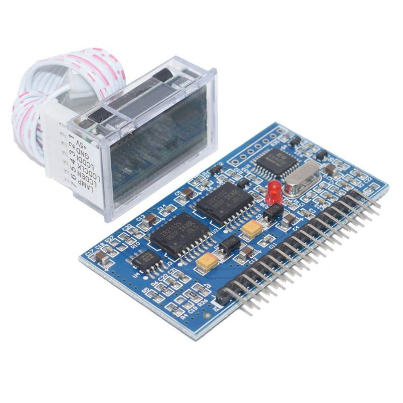 1 Set DC-DC DC-AC Pure Sine Wave Generator Inverter Boost Driver Board EGS002 + IR2110 LCD Driver Module DIY Replacement