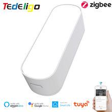 Tuya – capteur de luminosité intelligent Zigbee, pour domotique, contrôle par application domestique, fonctionne avec ZigbeeGateway