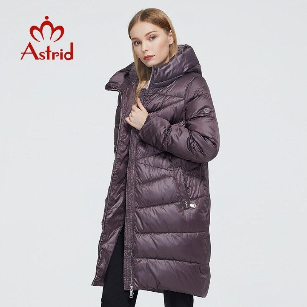 Astrid 2020 delle Nuove donne di Inverno cappotto lungo delle donne parka caldo di modo Giacca con cappuccio Bio-Imbottiture femminile di abbigliamento di Marca nuovo Disegno 9215 1