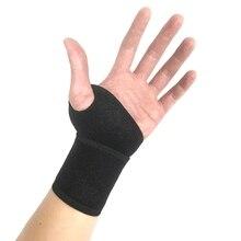 1 шт., Защитная повязка на запястье, фиксатор, поддержка запястного туннеля, растяжение, натяжение, спортивный ремешок, регулируемый, облегчение боли, защита запястья рук