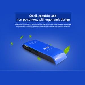 Image 2 - SSK USB 3.0 2 في 1 قارئ بطاقات عالية السرعة USB 3.0 SD/ Micro SD/SDXC/TF/T Flash ذاكرة محوّل قارئ البطاقات SCRM331