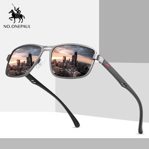 Driving Sunglasses Metal-Frame Square Fishing Polarized Male New-Fashion Brand Men NO.ONEPAUL