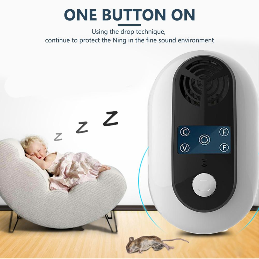 Electronic Pest Control Ultrasonic Pest Repeller Home Anti Mosquito Repellent Killer Rodent Bug Reject Mole Mice EU US UK Plug