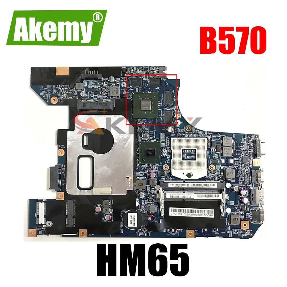 Материнская плата для ноутбука LENOVO B570 V570 B570Z HM65 N12P-GS-A1 материнская плата 10290-2 48, 4pa01. 021 LZ57
