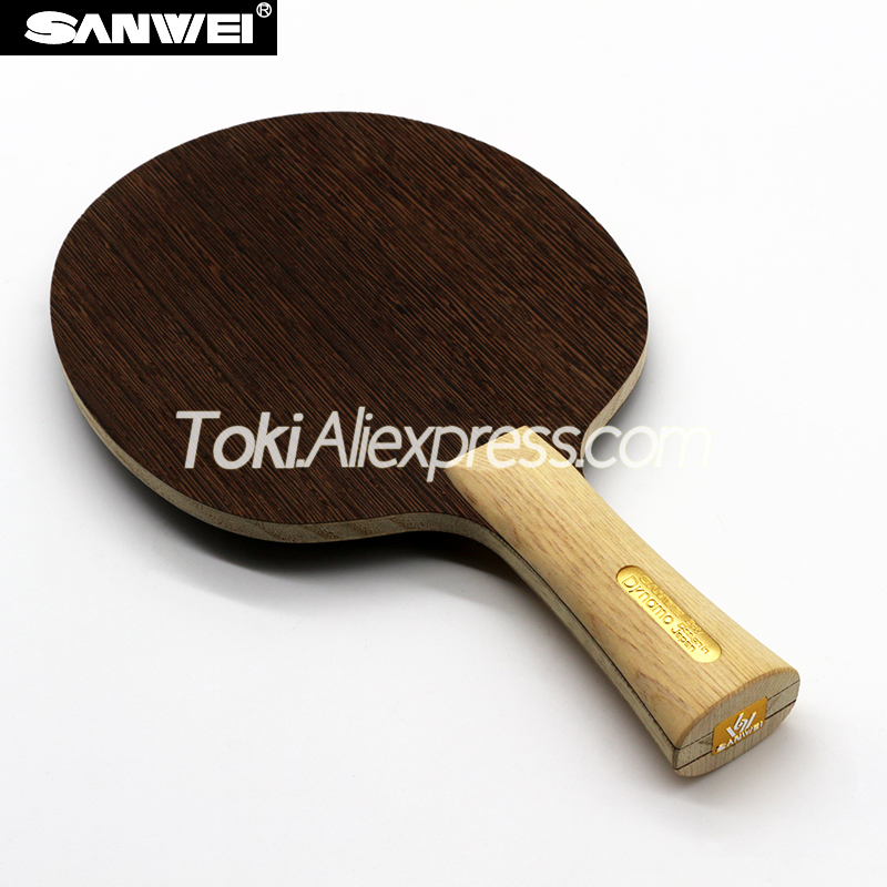 SANWEI DYNAMO Table Tennis Blade (5 Ply Wood, Light & Fast) SANWEI Racket Ping Pong Bat Paddle