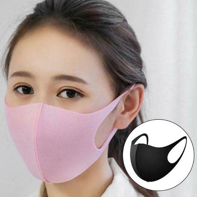 1/5pcs  Adult Unisex Mouth Mask Reusable  Three dimensional Mask Face Cover