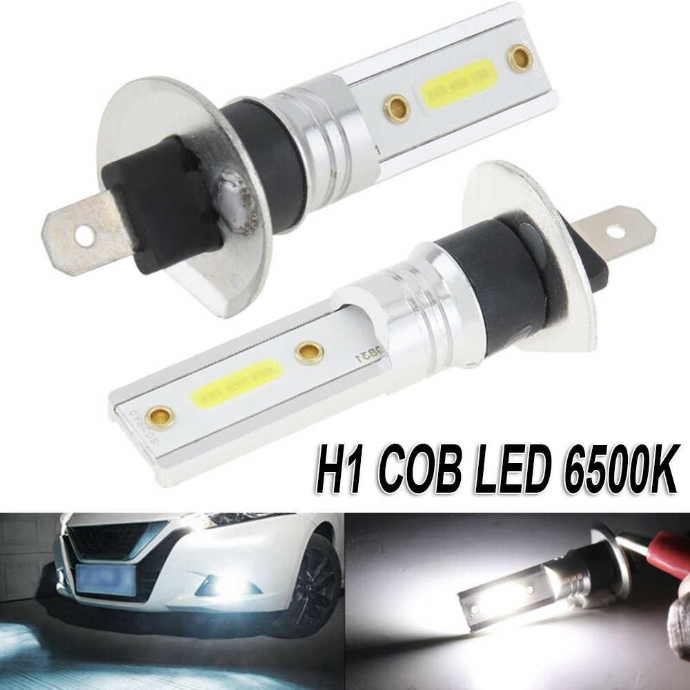Faro LED blanco 6500K H1 COB 1200LM lámpara de repuesto de luz antiniebla