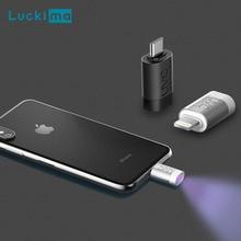 Nieuwe Draagbare Telefoon Uv Sterilisatie Lamp Voor Desinfecteren Bacteriële Smart Android Iphone Uvc Sterilisator Outdoor Tool Mijten Lichten