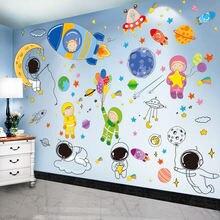 Астронавты космического пространства планеты наклейки на стену