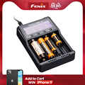 2019 NEW Fenix ARE-A4 quad channel smart charger compatible with types of Li-ion and Ni-MH/Ni-Cd batteries