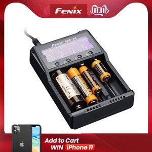 Image 1 - 2019 nuovo caricatore astuto di canale del quadrato di Fenix ARE A4 compatibile con i tipi di Li ion e batterie Ni MH/ni cd
