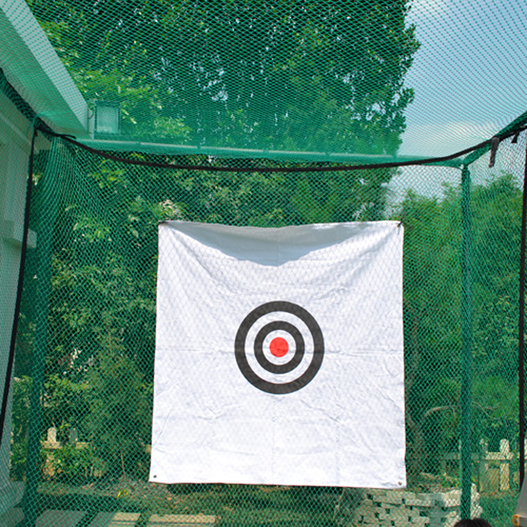 Golf Net Hitting Kicking Swing Simulator Practice Training Aid Driving Range Target Golf Accessories