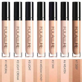 FOCALLURE Eye Concealer & Base 7 Colors Full Coverage Suit for All Color Skin Face/Eye Makeup Liquid Concealer 1