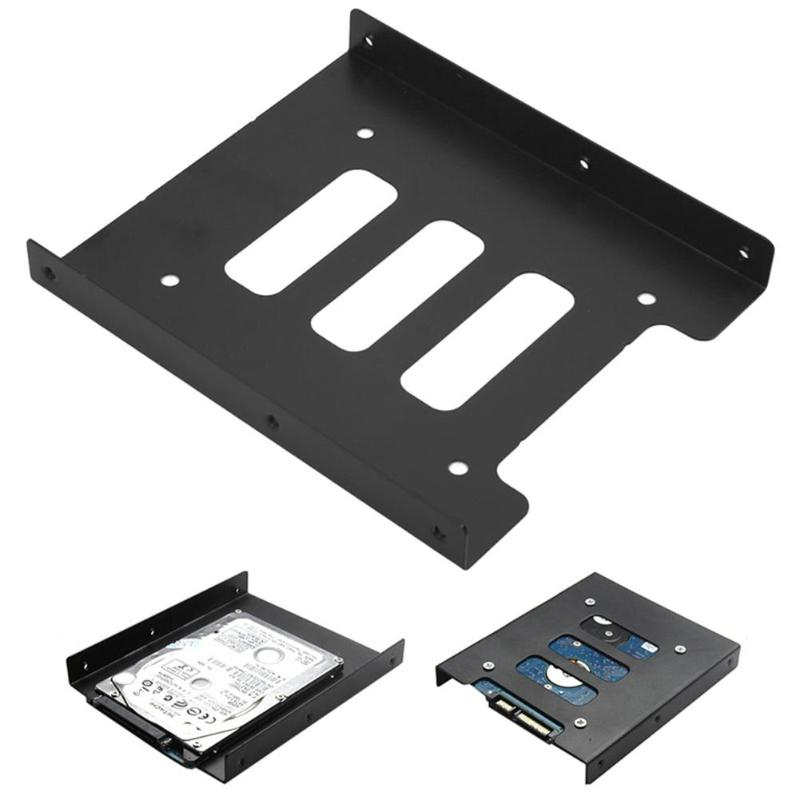 """Metal Mount S HDD 2.5/"""" to 3.5/"""" Stand Base Adapter Hard Drive Bracket"""