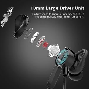 Image 5 - Langsdom Gaming Headset In Ear Earphones 3.5mm Wired Hi Fi Bass Stereo Earbuds PUBG Gamer Headphones Dual Microphone Detachable
