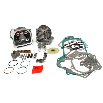 1 Set 100cc Big Bore Performance 50mm Cyinder Kit For 50cc GY6 139QMB Chinese Scooter