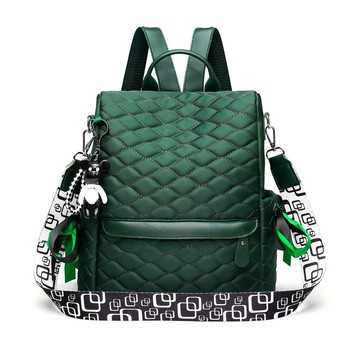 Plaid Laptop Backpack Anti Theft Stylish Casual Daypack Travel Business College School Bookbag for Women Girls Green Backpacks
