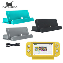 DATA FROG USB Type-C Charging Dock Stand For Nintend Switch Lite Console Portable Charger Base Station