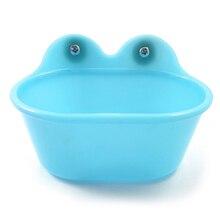Небольшой простой очистке, безопасный ванна для птицы для попугаев душевой ящик бассейна Портативный прочный нетоксичный аксессуары для домашних животных клетка