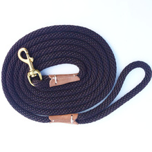 Dog Training Leash Rope Dog Check Cord/ Lightweight Small Medium Dog Tracking Leads 2M 5M 10M black red color Long dog leash