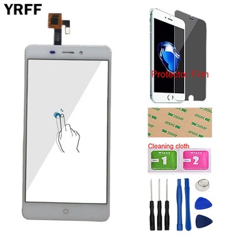 Touchscreen Touch Screen For ZTE Nubia N1 NX541J Touch Screen Digitizer Panel Sensor Front Glass Mobile Tools + Protector Film $ a protective film touch digitizer for 7 digma hit ht7071mg 3g tablet touch panel glass sensor