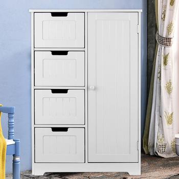 IKayaa nowoczesna podłoga szafka z szufladami na drzwi do łazienki sypialnia przechowywanie organizator meble drewniana ściana zawieszona szafka tanie i dobre opinie CN (pochodzenie) Nowoczesna i minimalistyczna Szafka do pokoju dziennego meble do domu Nowoczesne 1 (włącznie)-5 (włącznie)
