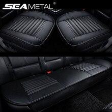 Stoelhoezen Voor Auto Pu Lederen Auto Bekleding Universele Vier Seizoen Stoelen Protector Mat Automotives Seat Cover Auto Accessoires