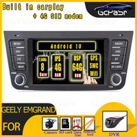 Android 10 4G+64G Car Radio Multimedia Video for Geely Emgrand GX7 EX7 X7 GPS RDS 2 din Car DVD Player GPS Navigation with BT