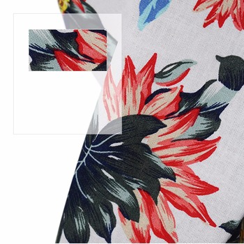 Summer Pet Printed Clothes For Dogs Floral Beach Shirt Jackets Dog Coat Puppy Costume Cat Spring Clothing Pets Outfits 4