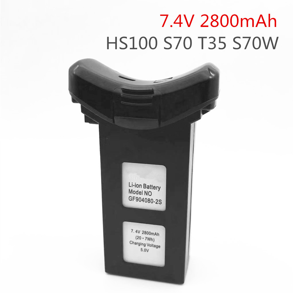 <font><b>7.4V</b></font> <font><b>2800mah</b></font> <font><b>Battery</b></font> for SJR/C SJRC S70W RC Quadcopter Spare Parts Accessories Li-po <font><b>Battery</b></font> SJRC S70W <font><b>Battery</b></font> image