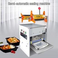 Máquina de selagem de pressão da mão takeaway snack caixa bolo lua snack máquina selagem manual máquina selagem de alimentos bzd
