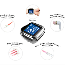 Cold Laser Watch Medical Device Low Lever Therapy High Blood Pressure Clean Blood High Blood Fat Diabetics Pain Relief blood pact