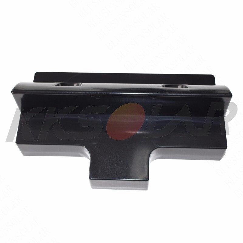 painel solar kit de montagem abs preto 05