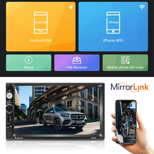 """Image 2 - Podofo Android 2 DIN Phát Thanh Xe Hơi 7 """"MP5 Người Chơi 2 + 32GB Rom Máy Nghe Nhạc Đa Phương Tiện 2DIN Autoradio GPS WIFI Không DVD Âm Thanh FM Stereo"""