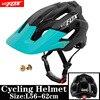 2019 corrida capacete de bicicleta com luz in-mold mtb estrada ciclismo capacete para homens mulheres ultraleve capacete esporte equipamentos de segurança 30