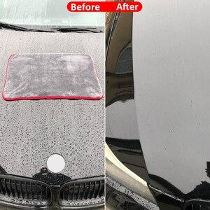 Image 3 - 車のクリーニングタオル1200GSM車ディテール40*40/60*90センチメートルマイクロファイバー乾燥タオル自動研磨ツール洗車布アクセサリー