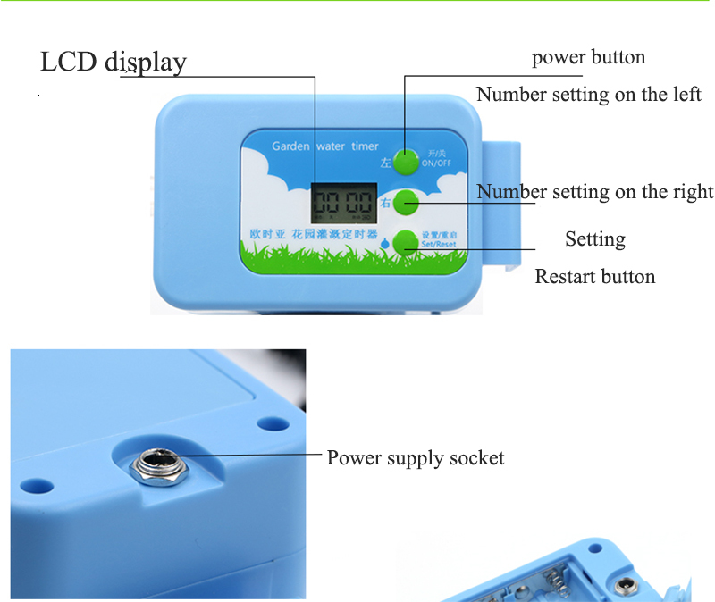 H179f6d5bd7f5460ca817d6c8fe5e34be3 Automatic Drip Irrigation System Pump Controller Watering Kits with Built-in High Quality Membrane Pump Used Indoor