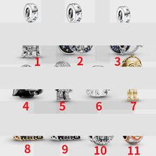 Лидер продаж 100% реальные 925 серебряные подвески 2020 Новый 11 Стиль StarWar бусины, подходят к оригиналу Pandora, браслет для Для женщин подарок