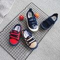 Eduba экспорт весна и осень мужская и женская детская парусиновая обувь на липучке регулируемая детская Тканевая обувь