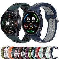 Per Xiaomi MI Watch e cinturino MI Color cinturino a sgancio rapido cinturino sportivo cinturino 22mm cinturino per Realme Watch 2/2 Pro