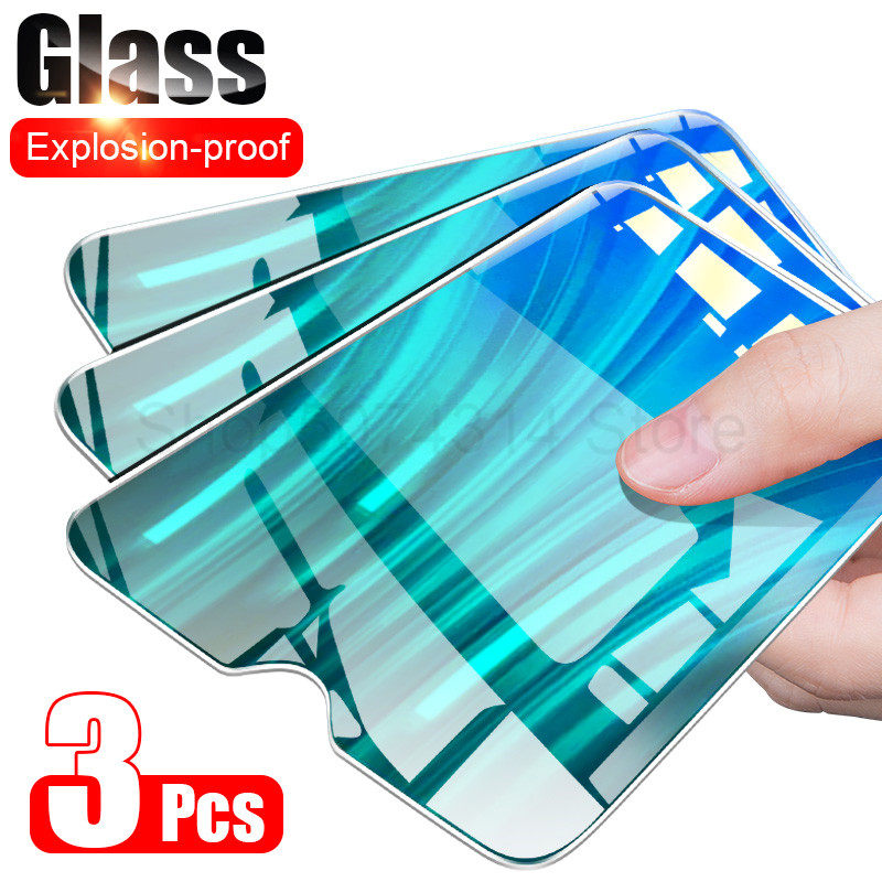 3Pcs 9H Tempered Glass For Redmi 8 8A 7 7A 6 6A Film Screen Protector For Xiaomi Redmi Note 8T 8 7 5 6 Pro Protective Glass HD