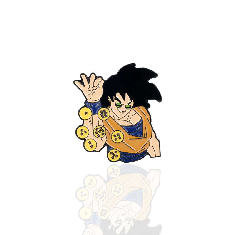 Anime Jewelry Dragon Ball Z Sun Wukong Brooch Cartoon Trinkets Enamel Pin Brooches for Women Men Lapel pins Backpack Bag Clothes