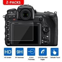 2 шт. для Nikon D7500 D7200 D7100 D5600 D5500 D5300 D3400 D3500 D850 D810 D800 D750 D610 D500 D5 защита экрана из закаленного стекла