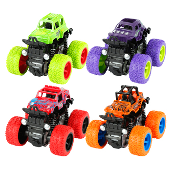 Four-wheel drive inertial Car Self Rotation 360 rotating stunt Car kids toys Anti-Shatterproof Toy Car Christmas birthday gifts image