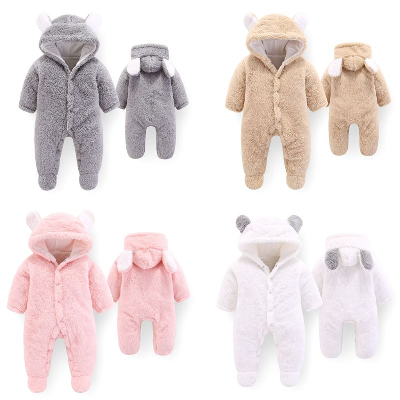 Winter Baby Sleeping Bag Newborn In Coral Velvet Cotton Toddler Sleeping Bags Baby Sleepsacks Cartoon Bear