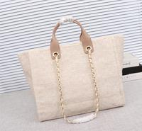 Famous Deaigner Luxury Handbags Big Capacity Canvas Bags High Quality ToP Real Luxury Channels Handbags Tote Bag Shopping Bags