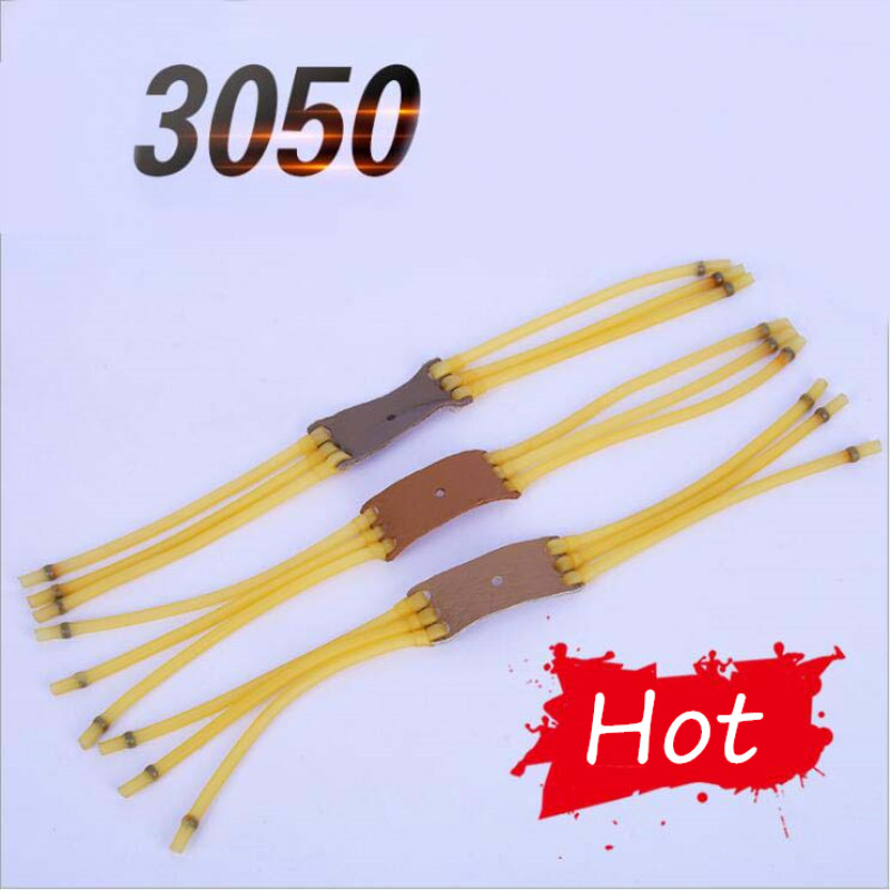 3050 Type 6 Strips Elastic Catapult Bow Slingshot Rubber Bands 5mm Outer 3mm Inner Hunting Rubber Band Cheap